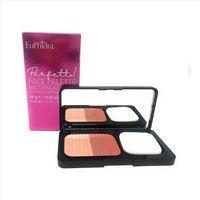 Euphidra perfetto - face palette cipria illuminante fard coral light, 10g