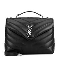 Saint Laurent borsa loulou monogram small in pelle matelassé