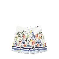 MONNALISA shorts in raso stampa floreale
