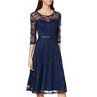 Oliceydress ds0017 vestiti da sera donna eleganti, nero (nero), xs