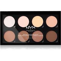 NYX Professional Makeup highlight & contour pro palette contouring 8 x 2,7 g