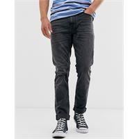 Nudie Jeans co - lean dean - jeans slim affusolati lavaggio grigio mono