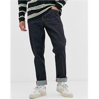 Nudie Jeans co - steady eddie ii - jeans regular fit affusolati lavaggio dry true-navy
