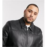 Bolongaro Trevor plus - giacca in pelle slim-nero