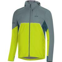 Gore--wear r7 partial goretex infinium l citrus green / nordic blue