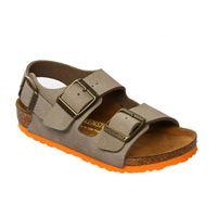 Birkenstock milano taupe sandalo bambino - calzata stretta