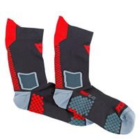 Dainese d-core mid sock-606-black/red