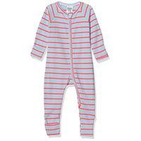 LOVABLE la tutina zip pigiamino per bambino e neonato, grigio stampa ciliegia, 18 mesi bimba