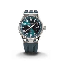 Locman montecristo automatico orologio uomo cassa in acciaio e titanio petrolio 0541a19s-00ptwhsl