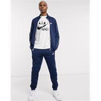 Nike - tuta sportiva blu navy