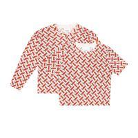 Burberry Kids cardigan in lana jacquard
