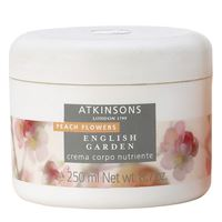 Atkinsons english garden - peach flowers - crema corpo nutriente 250 ml