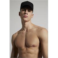 Dsquared2 uomo cappello nero taglia one. Size 100% cotone