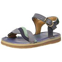 El Naturalista e212 pleasant perissa, sandali punta aperta bambina, blu (vaquero vaquero), 37 eu