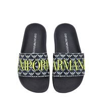 EMPORIO ARMANI sandali in gomma con logo