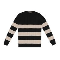 Loro Piana Kids pullover lighthouse in cotone e seta