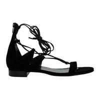 Stuart Weitzman sandali donna nero 37.5