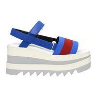 Stella McCartney sandali donna tessuto blu 38.5