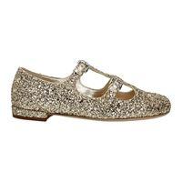 Miu Miu ballerine donna glitter oro 35.5