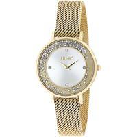 Liu Jo orologio liu-jo luxury dancing slim in acciaio e cristalli tlj1692 gold