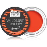 Barry M wildlife balsamo tonificante per labbra colore untamed red