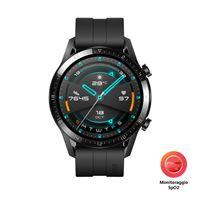Huawei watch gt 2 smartwatch nero amoled 3, 53 cm (1. 39'') gps (satellit
