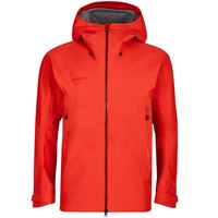 Mammut crater hs hooded jacket men giacca hard shell guscio uomo
