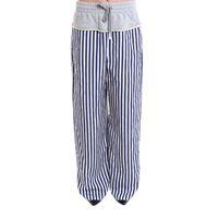 ALEXANDER WANG pantaloni donna 4w184003w6954 cotone bianco