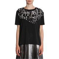 MAISON MARGIELA t-shirt donna s52nc0148s23286900 poliestere nero