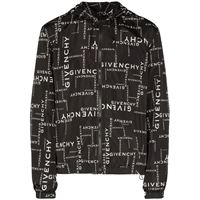 GIVENCHY giacca outerwear uomo bm00c412ds004 poliammide nero