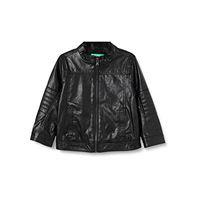 United Colors of Benetton 2qm253i10 cappotto, nero (nero 100), 86/92 (taglia produttore: 2y) bimbo