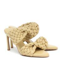 Bottega Veneta sandali bv curve in pelle