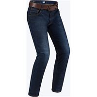 PMJ Promo Jeans jeans moto deux worker short blu pmj