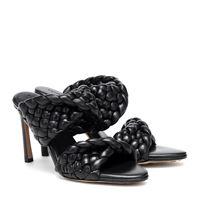 Bottega Veneta sandali curve in pelle