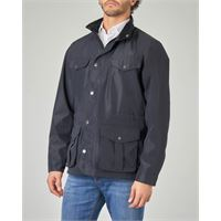 Barbour field jacket blu
