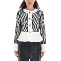 ALEXANDER WANG giacca donna 1wc2192131106 lana bianco