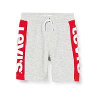 Levi's Kids lvb knit jogger logo short pantaloncini bambino light grey heather 16 anni