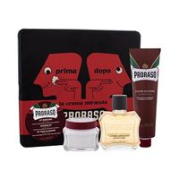 PRORASO red after shave lotion confezione regalo dopobarba 100 ml + crema da barba 150 ml + crema pre-barba 100 ml + scatola uomo