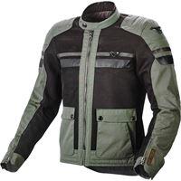Macna giacca moto estiva Macna fluent verde nero