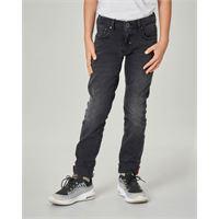 Antony Morato jeans nero skinny con salpa logata 10-16 anni