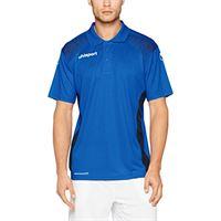 uhlsport uomo goal polo shirt, uomo, goal polo shirt, azurblau/marine, 164