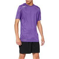 uhlsport stream 22 kurzarm, maglietta bambini, viola/bianco, 116