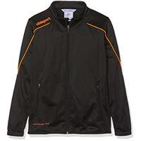 uhlsport stream 22 classic - giacca da bambino, bambini, giacca, 100519322, schwarz/fluo orange, 140