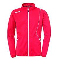 Kempa curve classic jacke, giacca da uomo, rosso/bianco, l
