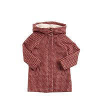 CHLOÉ cappotto in lana e alpaca con cappuccio