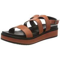 Shabbies Amsterdam shs0616, sandali con chiusura sul retro donna, braun brick brown 3378, 41 eu