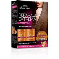Be Natural, set shampoo e balsamo (3 pezzi)