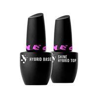 Yes! You - base and top solid set - set base e top, include base coat in gel ibrido e top coat ibrida lucida