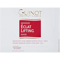 Guinot masque eclat lifting lift firming radiance maschera facciale, 1 confezione con 4 pezzi