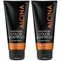 Alcina color shampoo rame, 2 x 200 ml